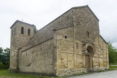Montefeltro (Marches, Italy): medieval church Royalty Free Stock Images