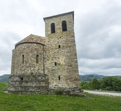 Montefeltro (Marches, Italy): medieval church Royalty Free Stock Photography