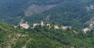 Montefeltro (Marches, Italy) Royalty Free Stock Photography