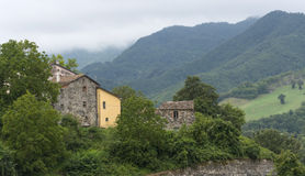 Montefeltro (Marches, Italy) Stock Photo