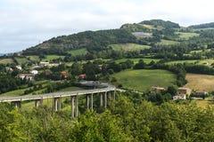 Montefeltro (Marsen, Italië) Stock Afbeeldingen