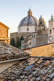 Montefiascone - Lazio - Viterbo - Italia - tejados Fotos de archivo libres de regalías