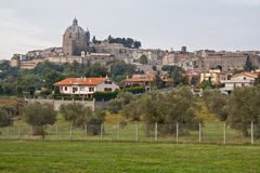 Montefiascone Toskana Italien Stockfotografie