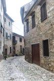 Montefioralle (Chianti, Toscanië) Royalty-vrije Stock Foto
