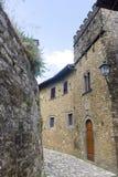 Montefioralle (Chianti, Toskana) Stockfoto