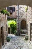 Montefioralle (Chianti, Toskana) stockbild