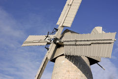 Montefiore风车,耶路撒冷,以色列 免版税库存照片