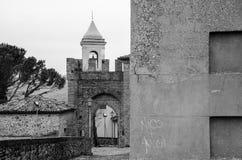 Montefiore Conca (Rimini). Medieval landscape in Rimini, Emilia-Romagna (Italy Stock Images
