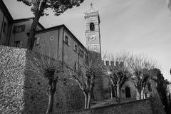 Montefiore Conca (Rimini). Medieval landscape in Rimini, Emilia-Romagna (Italy Royalty Free Stock Photos