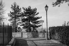 Montefiore Conca (Rimini). Medieval landscape in Rimini, Emilia-Romagna (Italy Stock Image
