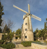 Montefiore windmill, Jerusalem. Royalty Free Stock Images