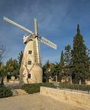 Montefiore windmill, Jerusalem. Stock Images