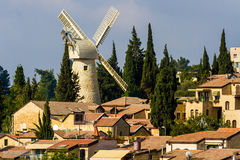 Montefiore windmill Stock Image