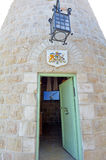 Montefiore Windmill in  Jerusalem  Israel Stock Photos