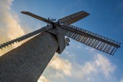 Montefiore windmill, Jerusalem, Israel Stock Image