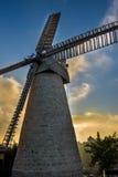 Montefiore windmill, Jerusalem, Israel Stock Images