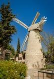 Montefiore Windmill in Jerusalem, Israel Stock Image