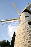 Montefiore Windmill, Jerusalem Stock Images