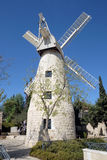 Montefiore Windmill in Jerusalem Royalty Free Stock Photos