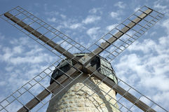 Montefiori's windmill Stock Photo