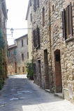 Montefollonico (Siena) royalty free stock images