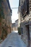 Montefollonico (Sienne) image libre de droits