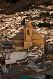 montefrio的,格拉纳达古老教会 免版税库存图片