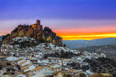 Montefrio в Гранада, Испании Стоковое Изображение