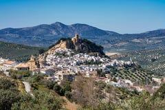Montefrio dans la r?gion de Grenade de l'Andalousie en Espagne images stock