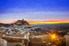Montefrio in Granada, Spanien Lizenzfreies Stockbild