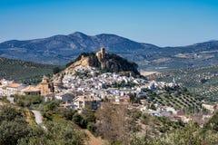 Montefrio i den Granada regionen av Andalusia i Spanien royaltyfria bilder