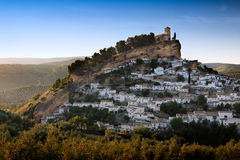 Montefrio at a sunny day, Province of Granada, Spain Stock Images