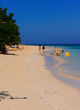 Montego Bay Beach Jamaica Stock Photography