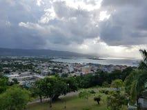 Montego Bay i Jamaica royaltyfria foton