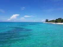 Montego bay in jamaica. Seascape royalty free stock photos