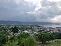 Montego zatoka w Jamaica Obrazy Royalty Free
