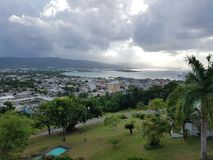 Montego zatoka w Jamaica Zdjęcia Stock