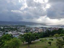 Montego zatoka w Jamaica Fotografia Royalty Free