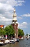 Montelbaanstoren in Amsterdam Stock Images