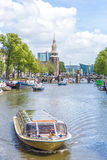 Montelbaanstoren tower in Amsterdam, Netherlands. Royalty Free Stock Photo