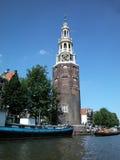 Montelbaanstower, Amsterdam Fotografia Stock Libera da Diritti