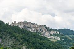 Monteleone di Spoleto (Perugia) Fotos de Stock