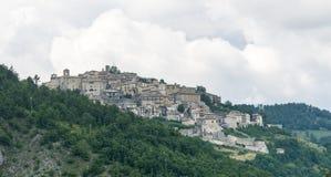 Monteleone di Spoleto (Perugia) Royalty Free Stock Photos