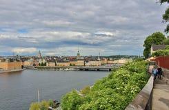 Monteliusvägen σε Södermalm Στοκ εικόνα με δικαίωμα ελεύθερης χρήσης