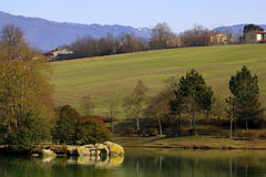 Montelleri Lake in Vicchio, Firenze Stock Photography