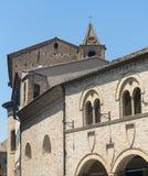 Montelupone (marços, Itália) Imagem de Stock