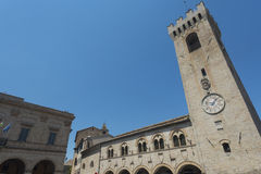 Montelupone (Marches, Italy) Stock Images
