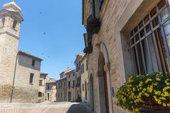 Montelupone (Marches, Italy) Stock Photography
