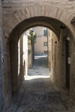 Montelupone (Marches, Italy) Stock Image