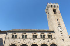 Montelupone (Marches, Italy) Royalty Free Stock Images